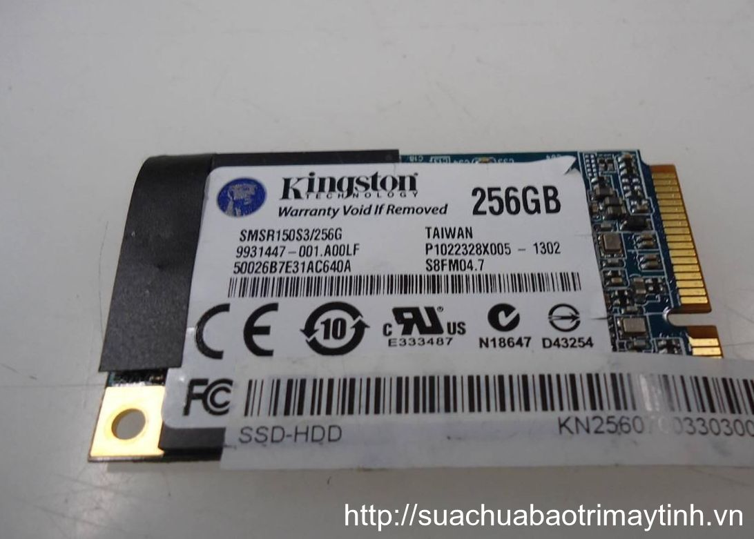 Kingston SMSR150S3 256G mSATA 256GB Mini-SATA.JPG