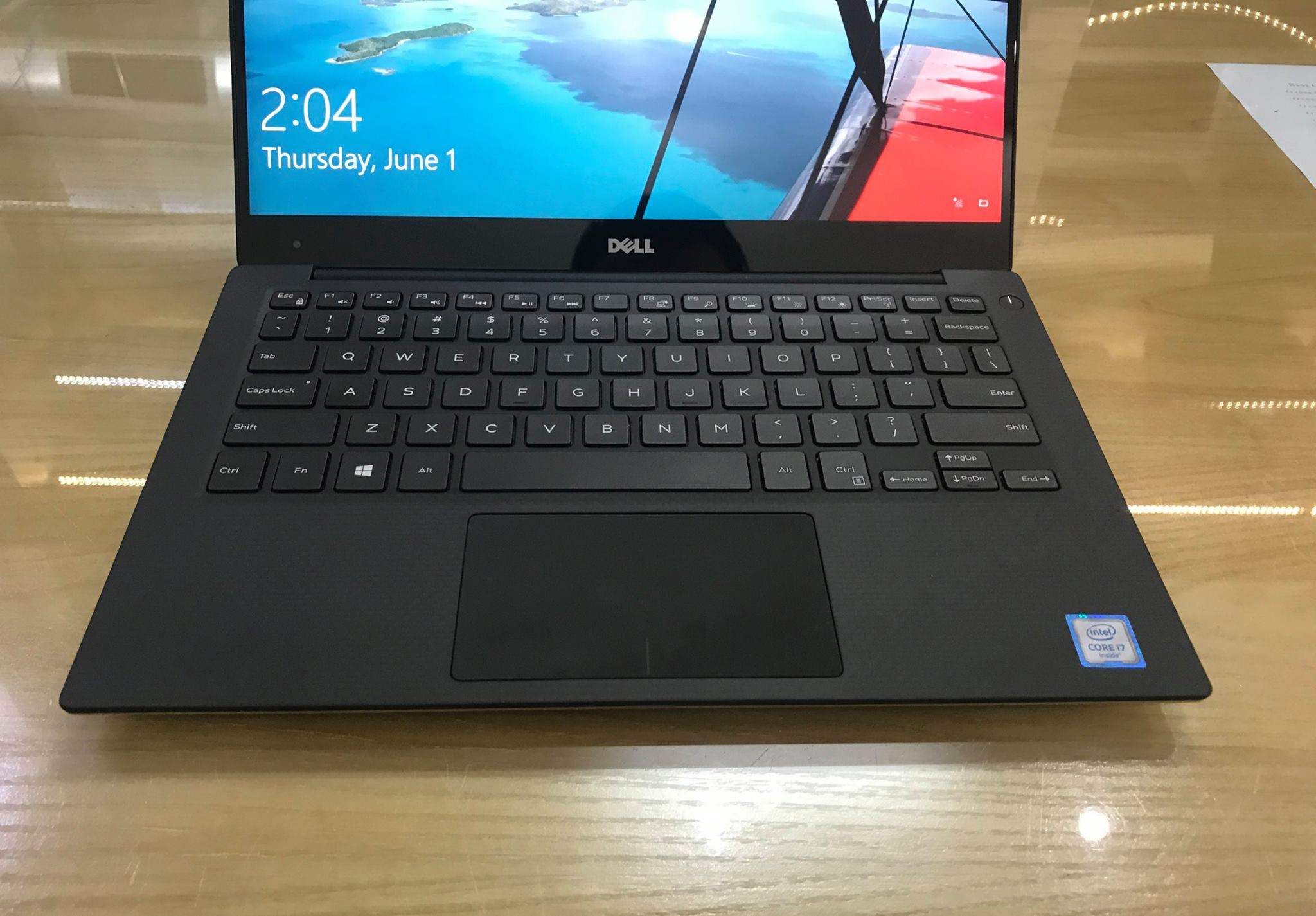 Laptop Dell XPS 13 9350 Gold core i7 -5.jpg